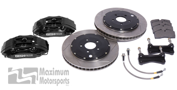 "StopTech Trophy Sport Big Brake Kit, 13"" or 14"" rotors, 4-piston STR calipers, 1994-2004 Mustang"