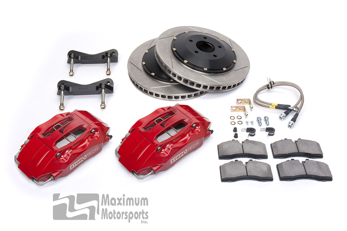 "StopTech Big Brake Kit, 14"" rotors, 4-piston/6-piston calipers, 2005-2014 Mustang"