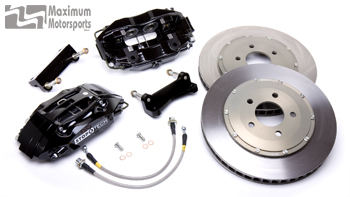 "StopTech CMC Big Brake Kit, 13"" with 4-piston ST-40 calipers, 1979-1993 Mustang"