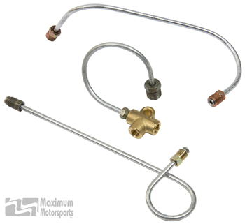 Manual Brake Installation Kit, SVO master cylinder in 1987-93 Mustang