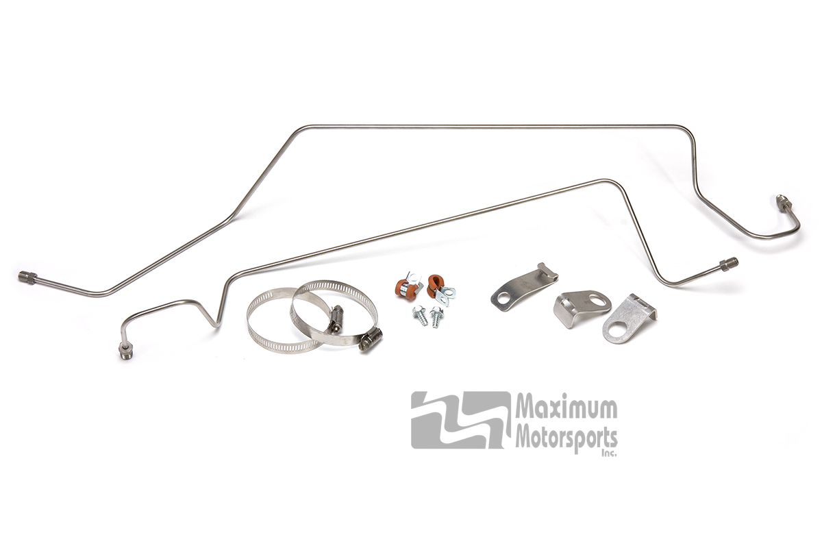 MM Rear Disc Brake Hard Lines, 1986-93 with SN95 calipers