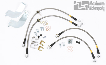 MM Stainless Brake Hose Package, 1999-04 IRS Cobra Mustang