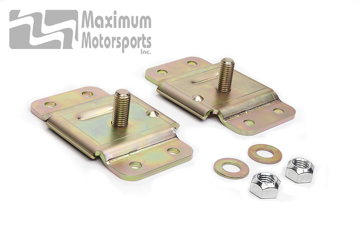 Coyote Swap Firewall-Clearance Motor Mount Adapters, 1979-2004