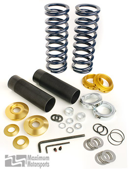 Coil-Over Kit with springs, Front, Bilstein & older MM Struts, 1979-2004 Mustang