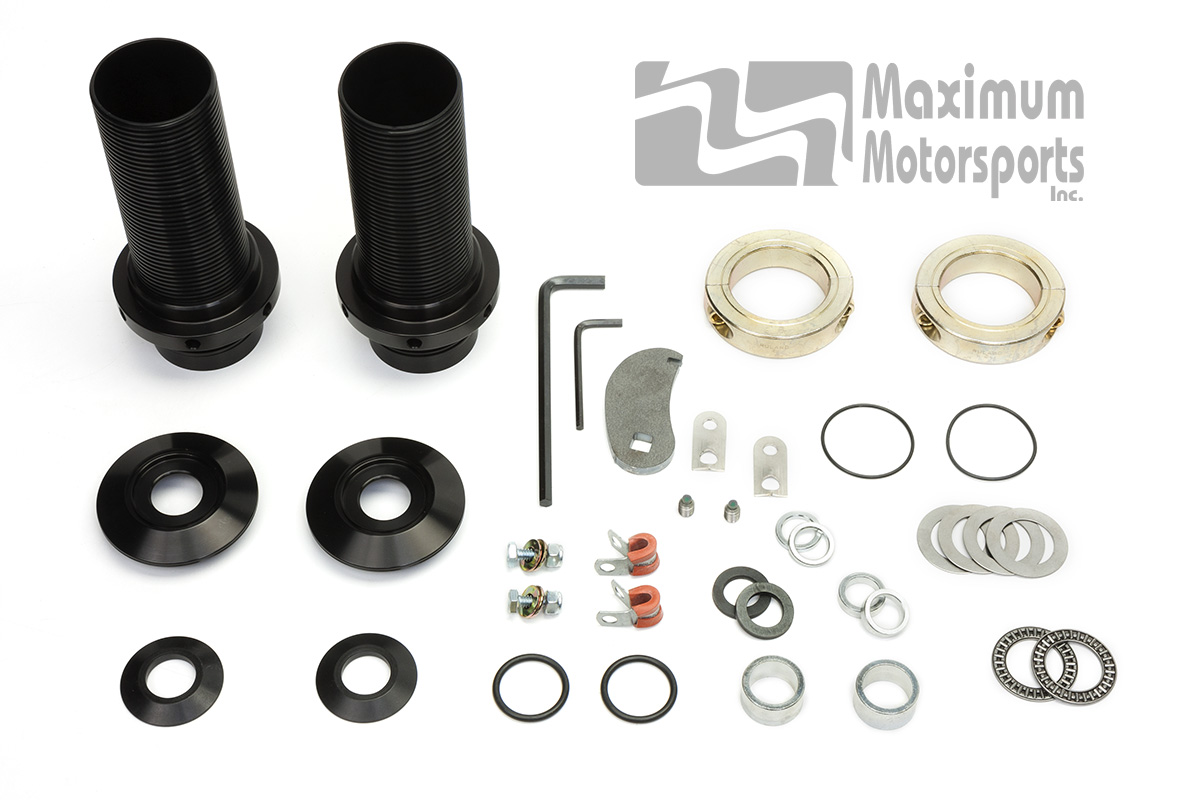 Mustang Coil-over Kit, Front, Bilstein and Yellow MM Struts, 1979-2004