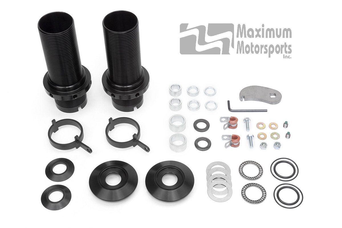 Mustang Coil-Over Kit, Front, MM 3rd-Generation Black Struts, 1979-2004