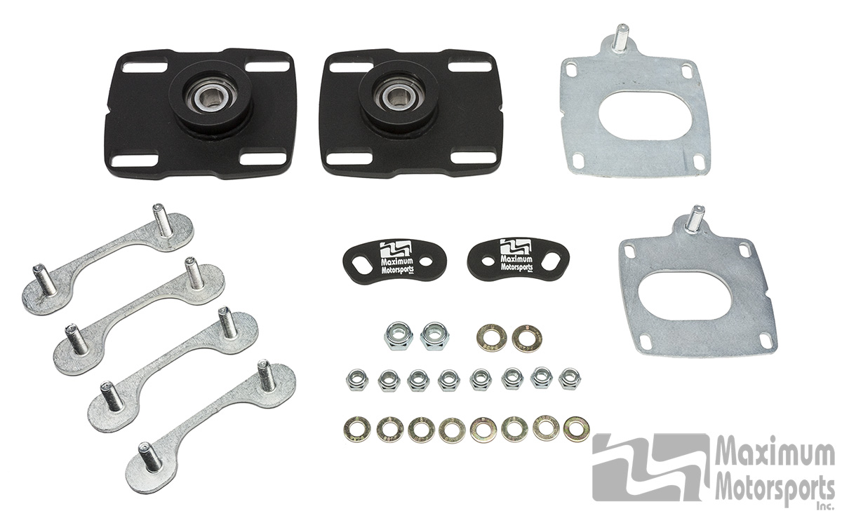 "Caster Camber Plates, 2005-2014 Mustang (Base Kit for 2.5"" coil-overs)"