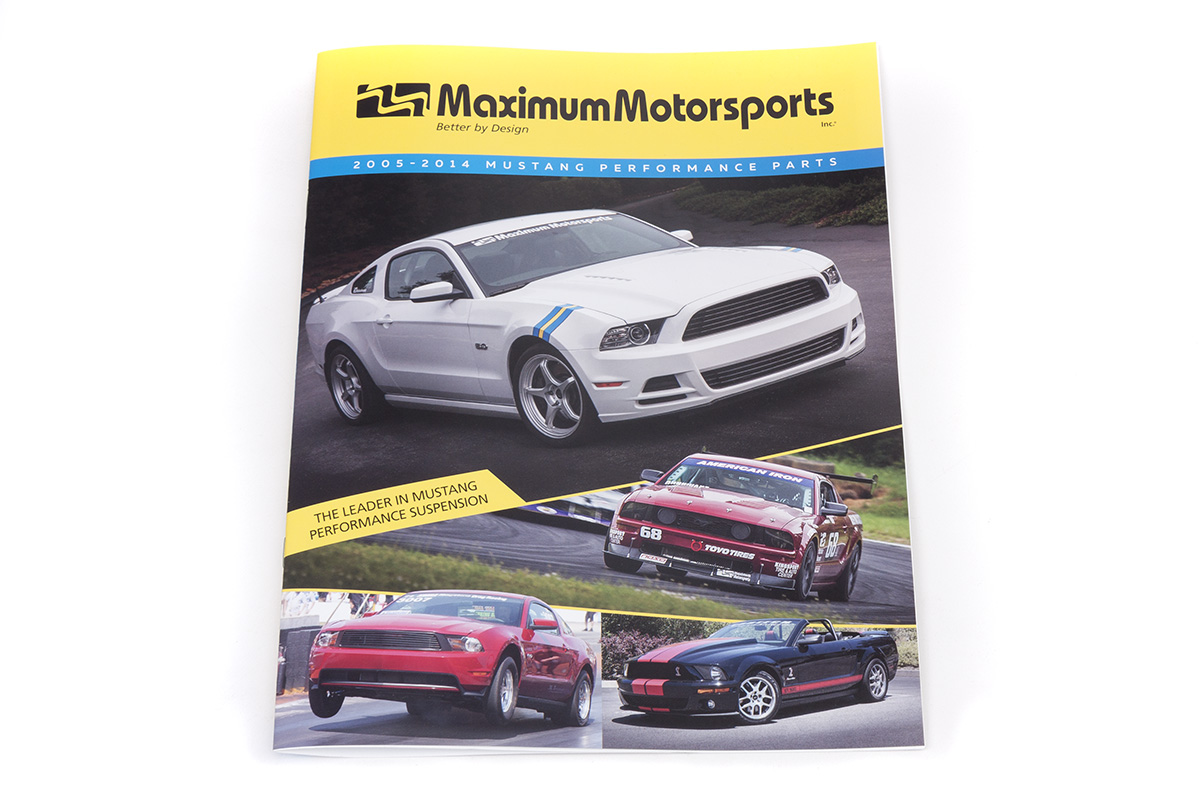 Maximum Motorsports Product Catalog, 2005-2014 Mustang