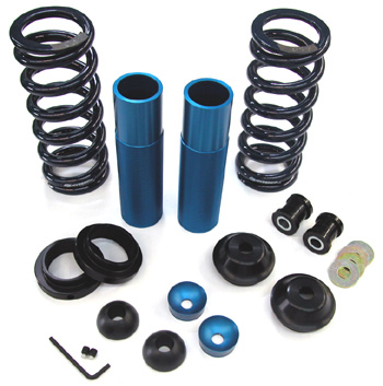 Coil-Over Kit with Springs, Koni SA Shocks, rear, 1999-04 Mustang IRS
