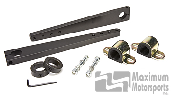 "Conversion kit, use to switch to 1-1/4"" diameter bar"