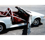 1983-93 Mustang Convertible Roll Bar Installation Photos