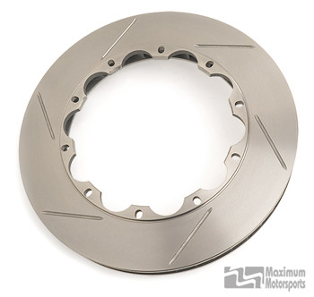 Aero Rotor, passenger side, 332x32mm, slotted, w/hardware