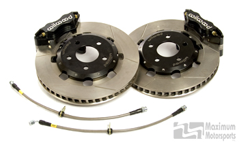 MM IRS Racing Brake Kit, 1999-2004 Cobra IRS, Fixed-mount rotor hat