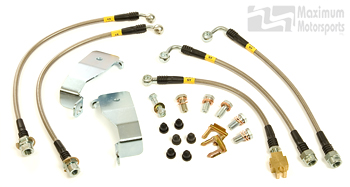 MM Stainless Brake Hose Package, 1994-95 Mustang