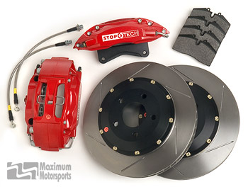 "StopTech Big Brake Kit, 15"", 6-piston, 2007-2014 GT500 and 2012-2014 Mustang with OEM Brembo calipers"