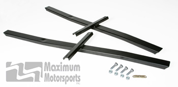 MM Standard Subframe Connectors, 1994-04 Mustang, powdercoated