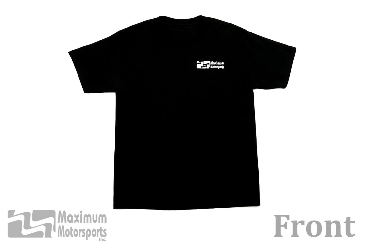 Maximum Motorsports Logo T-Shirt, Black