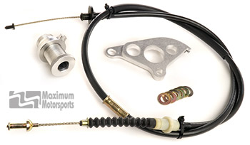 Clutch Cable, Quadrant, and Firewall Adjuster Package