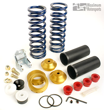 Coil-Over Kit with Springs, fits Bilstein & 1st-Gen Yellow MM Shocks, rear, 1979-2004 Mustang non IRS