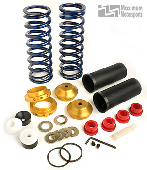 Coil-Over Kit with Springs, fits Bilstein Shocks, rear, 1999-04 Mustang IRS