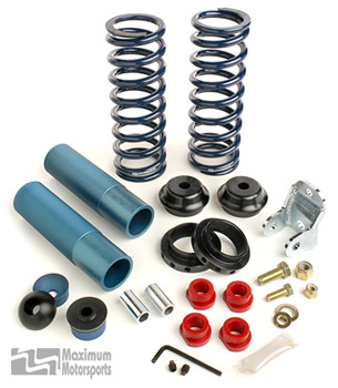 Coil-Over Kit with Springs, Koni Shocks, rear, 1979-04 Mustang non IRS