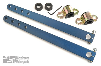 "Conversion kit, use to switch to 3/4"" diameter bar"