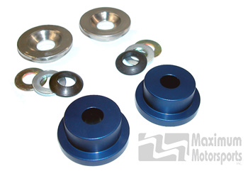 Steering Rack Bushings, Solid, 1985-04 Mustang with stock k-member