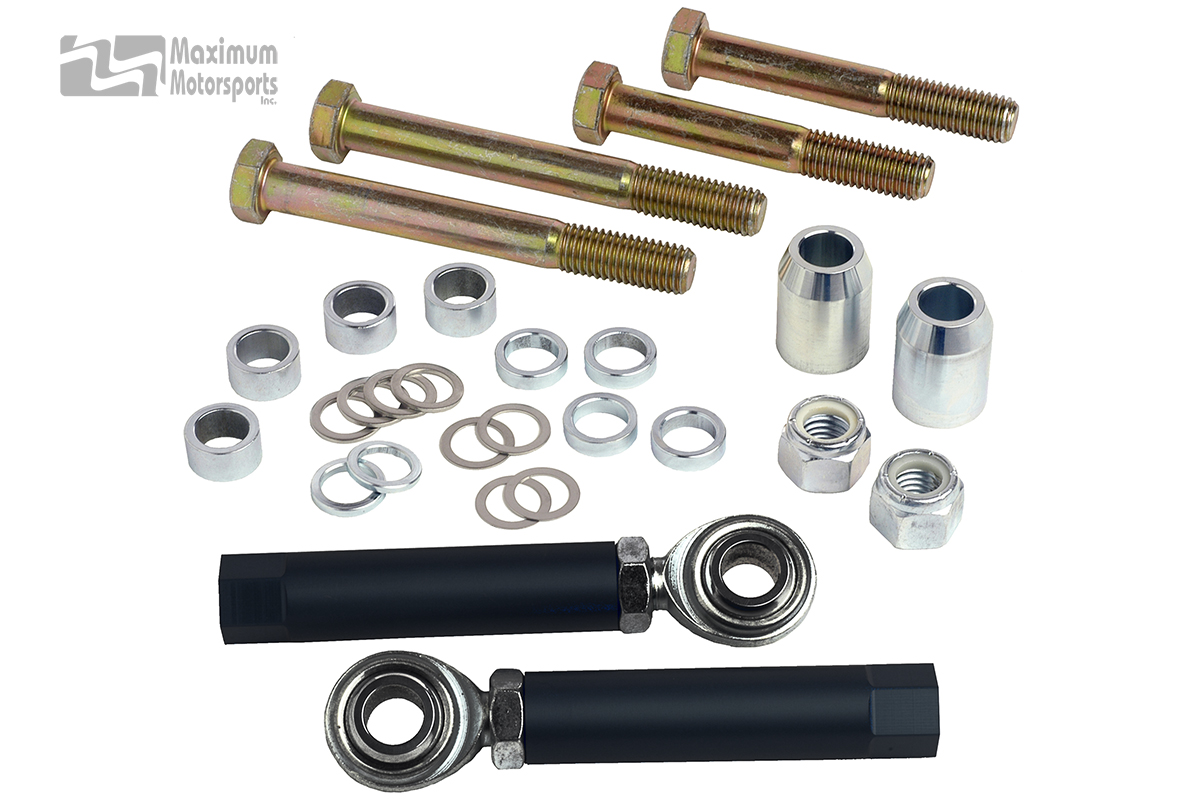 Bumpsteer kit, 1994-04 Mustang, bolt-through style