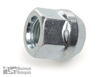 S550 Mustang lug nut, open ended, M14-1.50 thread