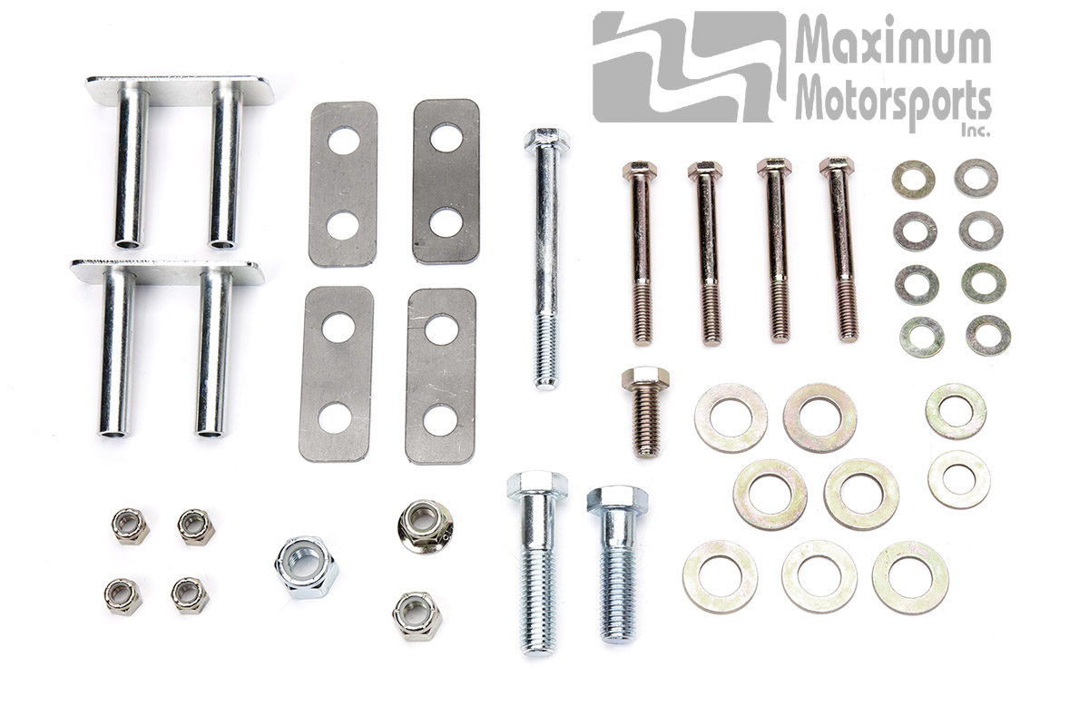 Hardware kit for MM Panhard Bar, 1979-2004 Mustang